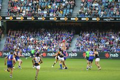Afl football Royalty Free Stock Photos