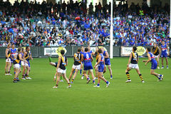 AFL Football match Stock Photos