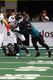 AFL : Prédateurs du 2 avril Orlando chez l'Arizona Rattlers Photo libre de droits