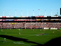 AFL Showdown 2010 Royalty Free Stock Image