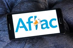 Aflac , American Family Life Assurance Company logo Royalty Free Stock Image