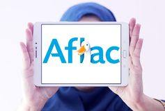 Aflac , American Family Life Assurance Company logo Royalty Free Stock Photography