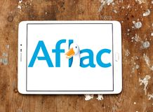 Aflac , American Family Life Assurance Company logo Stock Image