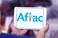 Aflac, amerikanisches Familien-Lebensversicherungsgesellschaftslogo Stockbild