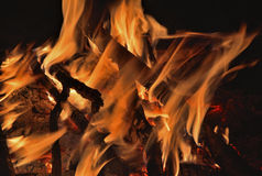 Aflame wood 20 Stock Photo