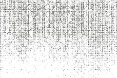 Aflição, textura da sujeira Ilustração do vetor Fundo do Grunge Teste padrão com quebras Fotografia de Stock
