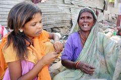 Aflicciones de la pobreza Fotografía de archivo libre de regalías