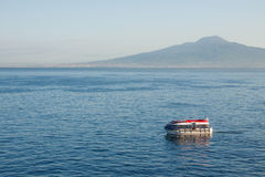 Afloat In The Bay Of Naples Royalty Free Stock Photography