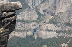 Afloramiento de roca Yosemite Fotos de archivo libres de regalías