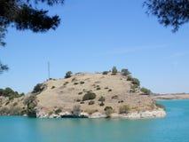 Afloramiento del lago Kontiki Imagenes de archivo