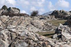 Afloramientos del granito Fotografía de archivo