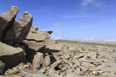 Afloramientos rocosos en el Mawr de Bera foto de archivo libre de regalías