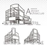 Architectural Abstract royalty free illustration