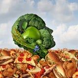 Afogamento na gordura Foto de Stock