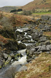 Afon Claerwen River Royalty Free Stock Photos