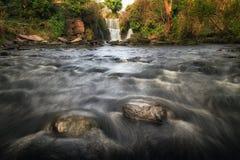 The Afon Llan at Penllergare Royalty Free Stock Photography