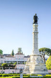 Afonso de Albuquerque Square, Lisbon, Portugal Stock Image