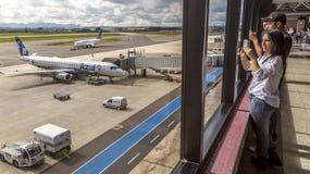 Afonso Pena lotnisko zdjęcie stock