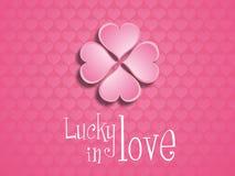 Afortunado en amor. Imagen de archivo libre de regalías