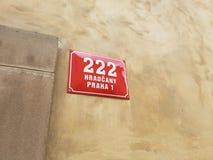 222 afortunados Fotografia de Stock