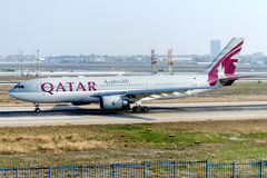 A7-AFP Qatar Airways Airbus A330-203 Fotografia de Stock