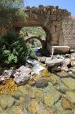 afqa古老桥梁黎巴嫩 库存照片