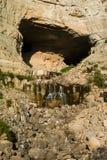 Afqa洞穴 图库摄影