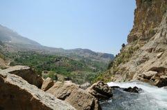 Afqa vattenfall, Libanon Royaltyfri Bild