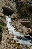 Afqa waterfall, Lebanon Royalty Free Stock Images