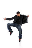 Afrian American Hip Hop Dancer Stock Photos