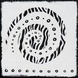 afric черная белизна картины Стоковая Фотография RF