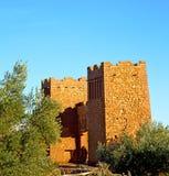 afric a w Morocco stary contruction i dziejowa wioska Zdjęcie Stock