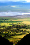 Africa. Ngorongoro crater in tanzania, africa royalty free stock photo