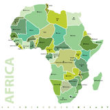 africa royaltyfri illustrationer