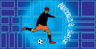 Africa 2010. South Africa Football WorldCup 2010 royalty free illustration