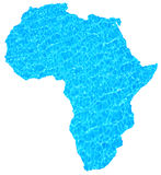 Africa. Solving the dry conditions of Africa Royalty Free Stock Photography