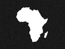 Africa. Not black as usual ,n set Royalty Free Stock Photography