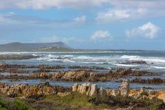 africa agulhas przylądka południe Obrazy Stock