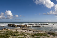 africa agulhas przylądka południe Zdjęcia Royalty Free