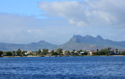 Africa, area of Port Louis in Mauritius Royalty Free Stock Photo