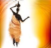 africa bakgrund Royaltyfri Fotografi