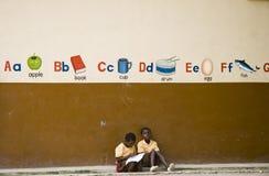 africa barn Arkivbilder