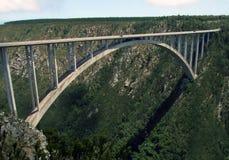 africa bloukrans bridge söder Royaltyfri Fotografi