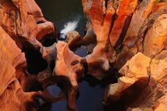 africa bourke lyckas södra gropar Royaltyfria Foton