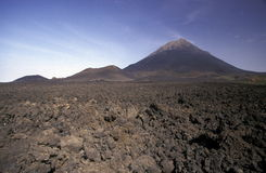 AFRICA CAPE VERDE FOGO Stock Photo