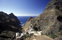 AFRICA CAPE VERDE SANTO ANTAO Stock Photo
