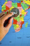 Africa checkup Stock Photo