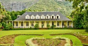 Africa, colonial eureka house in moka Stock Photos