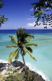 AFRICA COMOROS ANJOUAN. The beach of the village Moya on the Island of Anjouan on the Comoros Ilands in the Indian Ocean in Africa Royalty Free Stock Photo