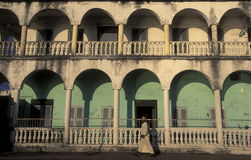 AFRICA COMOROS. The mosque in the city of Moroni in the Island of  Comoros in the Indian Ocean in Africa Royalty Free Stock Image